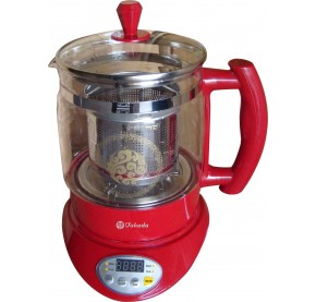 ISB-828B Takada Multi Function Health Glass Cooker with Stainless Steel Filter & Egg Holder