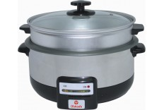 Takada Multipurpose Cooker w/Steamer Stainless Steel Body